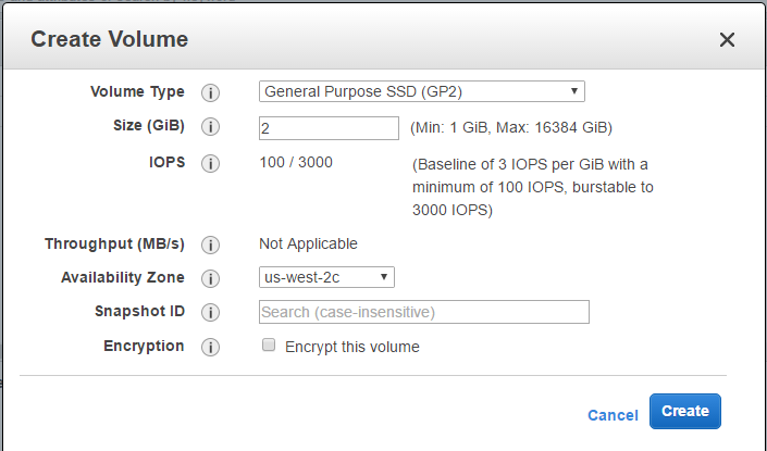 Attach And Mount An EBS Volume To EC2 Linux Instance