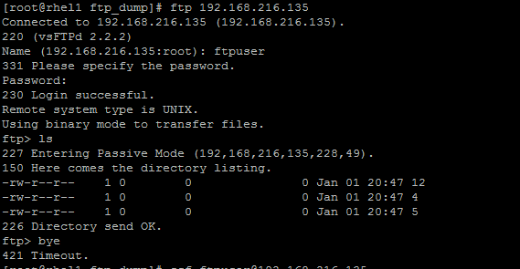 create FTP user with specific directory access