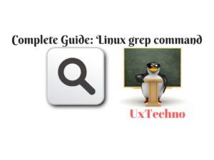 Linux grep