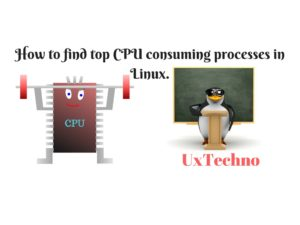 Top CPU consuming processes in Linux