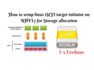 setup linux iSCSI target initiator