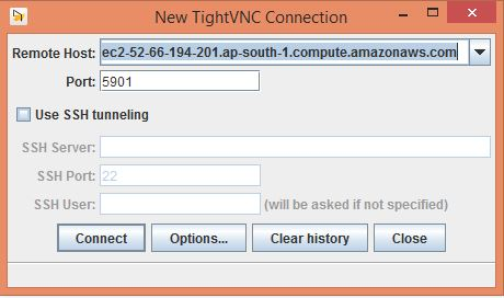 Access Ubuntu desktop on AWS EC2