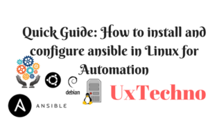install and configure ansible in Linux