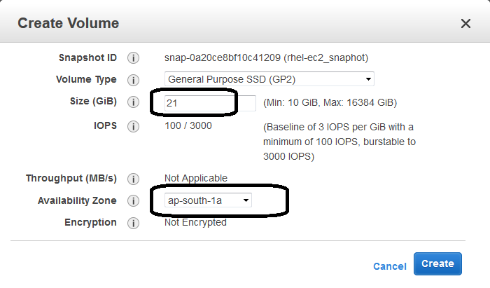 extend Linux root partition on AWS EC2