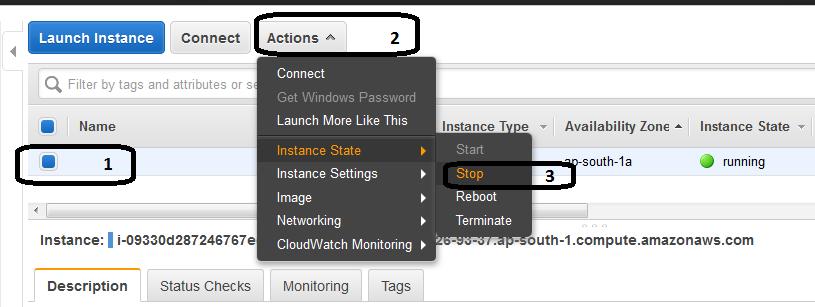 resize AWS EC2 instance