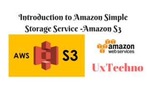 Amazon Simple Storage Service Amazon S3