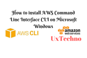 install AWS Command Line Interface